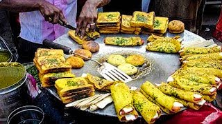 100 RARE STREET FOODS   RARE FOODS ALL AROUND THE WORLD   PART 6   INDIAN STREET FOODS  