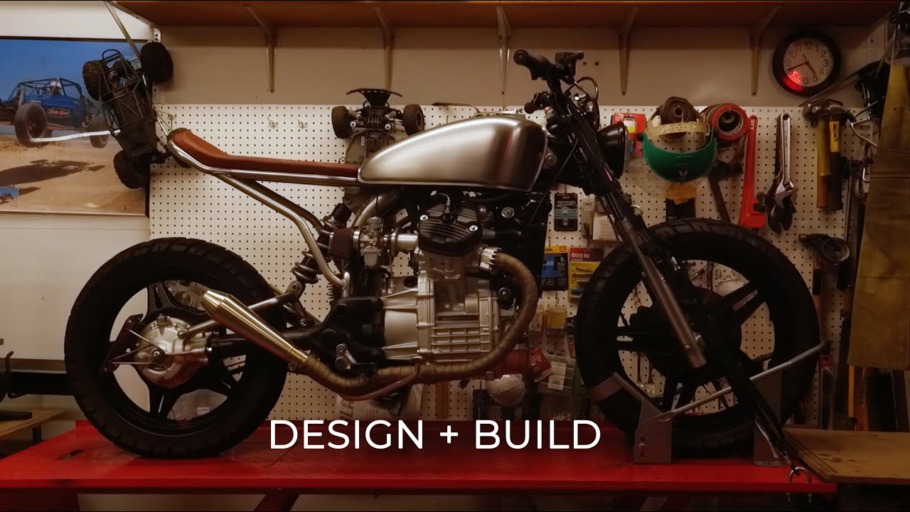 Draw The Line Motorcycle Design Build Youtube