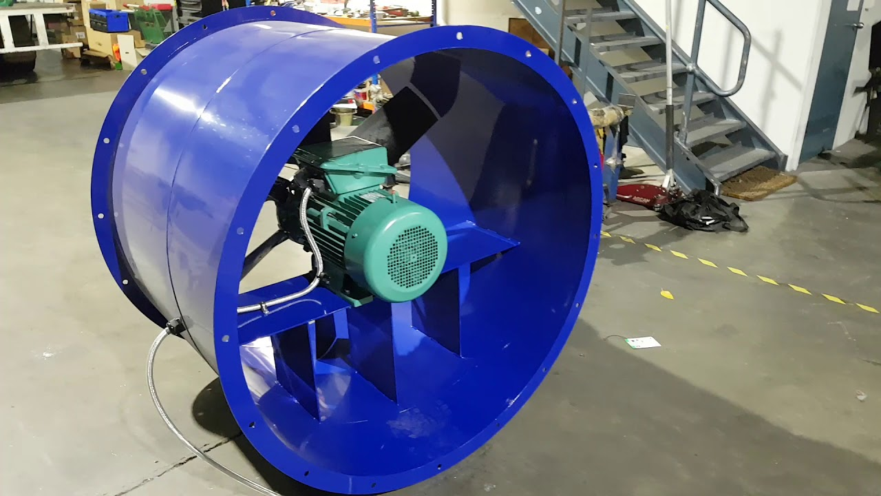 mainline dyno variable speed control of cell extraction fan