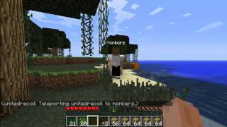 Minecraft: Back to our Roots w/ Nonkerz Ep.2
