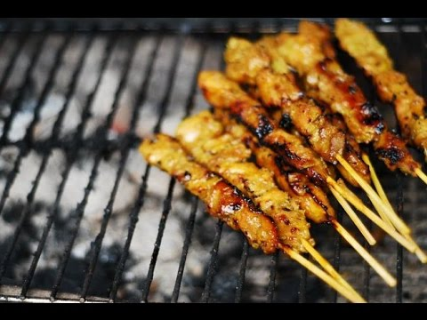 (Hangout-On-Air) How to Make Malaysian Satay + Sauce