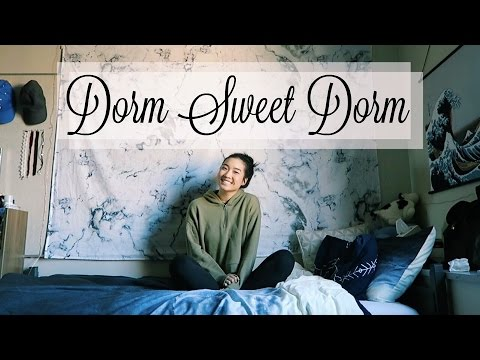 Back To College: DORM SWEET DORM | January 24