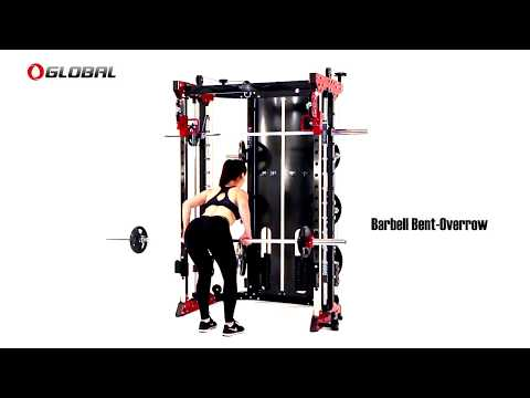 Global FT200 Smith Machine & Functional Trainer