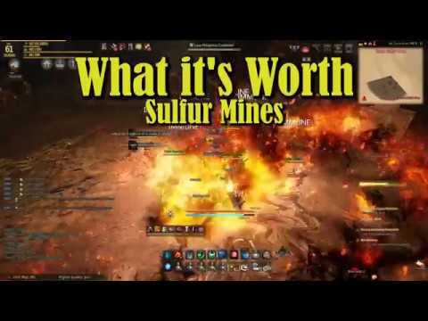 Sulfur Mines - Special Edition Of What It's Worth - Black Desert Online