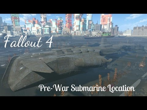 FALLOUT 4 : Pre-War Submarine Location (Yangtze Location)