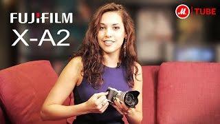 Тест-драйв системного фотоаппарата Fujifilm X-A2 c «М.Видео»(Системный фотоаппарат Fujifilm X-A2 в винтажном стиле протестировала эксперт «М.Видео» Александра Криштопа..., 2015-12-01T02:45:18.000Z)