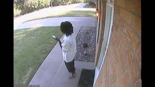 3 Men Breaking Into House Caught On Video