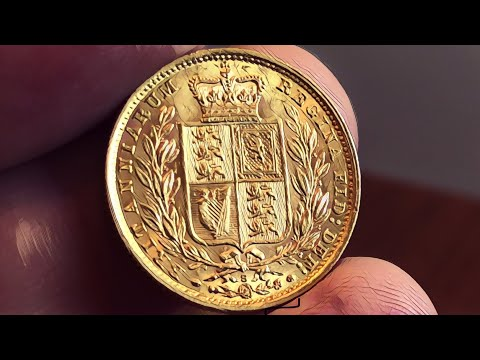 An elusive 1881-m shield back Sovereign arrived for grading | I bought it!!