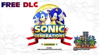 Sonic Generations Casino Night DLC is now free on XBOX 360 ( how to get it )