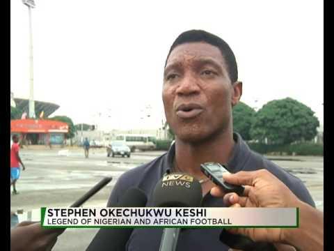 STEPHEN OKECHUKWU KESHI LEGEND OF NIGERIA FOOTBALL
