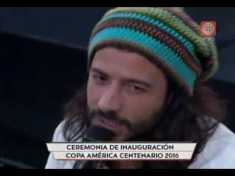 ♪Inauguración Copa América Centenario 2016 - MAGIC! Lay You Down Easy