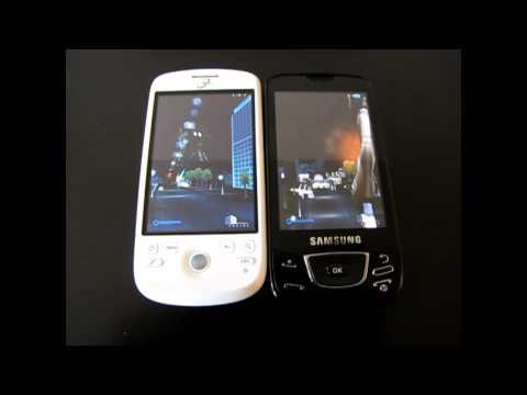Test Samsung Galaxy - Performances 3D