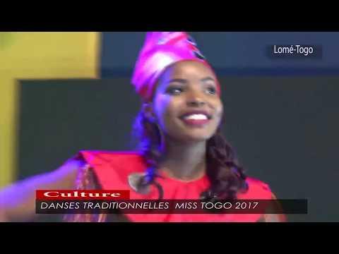 Danses traditionnelles Miss togo 2017