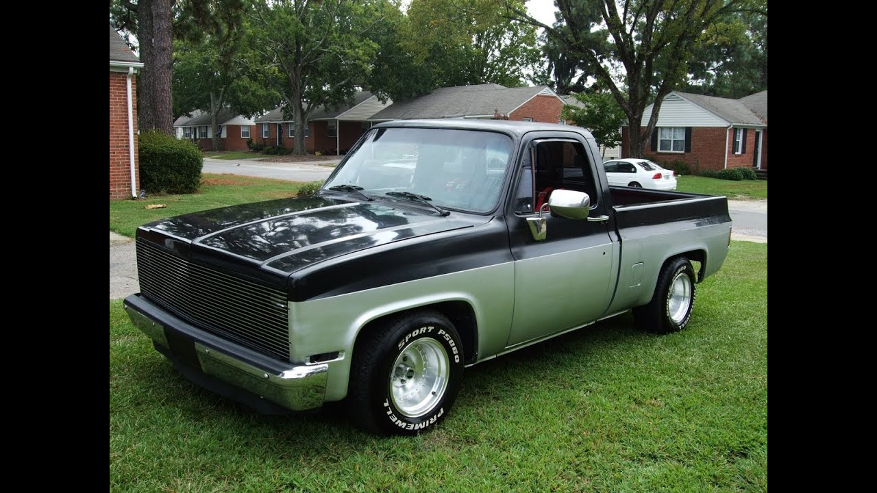 Silverado chevy 1987 silverado : 1987 Chevy truck running on the road on Sept 4th 2013, for sale on ...