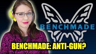 Is Benchmade Knife Company Anti-Gun?