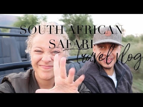 South Africa Travel Vlog: A Safari Adventure