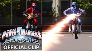 Power Rangers | Ninja Steel Official Clip - The Adventures of Redbot