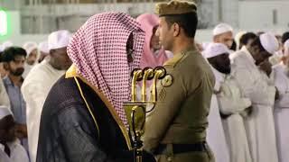 امام تراویح بیت اللہ الشیخ القاری سعود الشریم