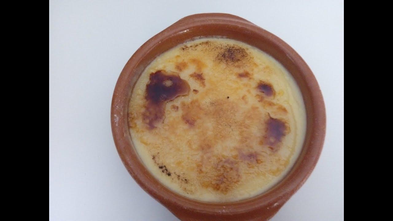 Crema catalana casera youtube
