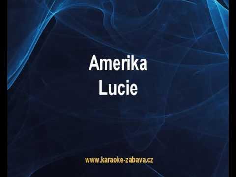 Amerika - Lucie Karaoke tip