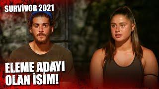 ELEME ADAYI KİM OLDU?   Survivor 2021