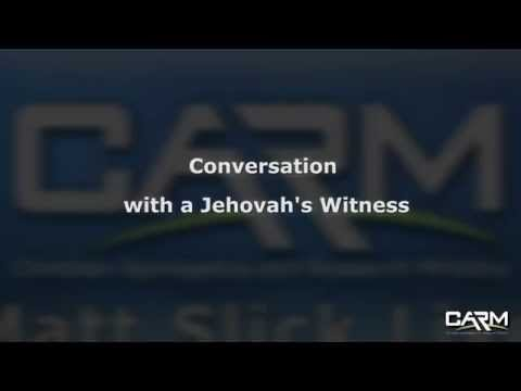 Matt Slick Live - Discussion with a Jehovah's Witness
