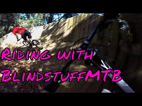 Riding Tom Brown Park with BlindstuffMTB in Tallahassee Florida!