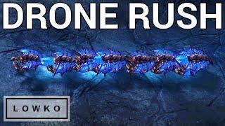 StarCraft 2: Disgusting Zerg Rush!