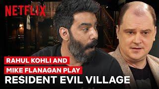 Rahul Kohli and Mike Flanagan Play Resident Evil Village | #GeekedWeek