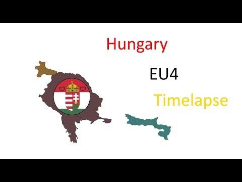 EU4 | Hungary/Węgry | Timelapse |