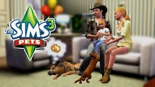 Let's play The sims 3 Питомцы #18