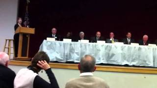 "Indiana General Assembly Legislative Forum ""Lightning Round"" Question #3"