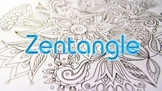 How to Doodle | Zentangle & Doodling | Зентангл и Дудлинг