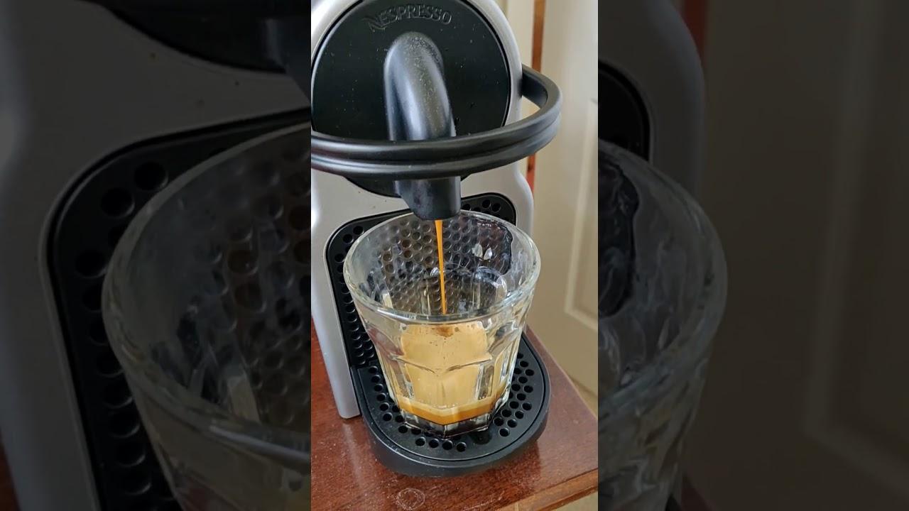 How to make a Ristretto on a Nespresso Original Line ...