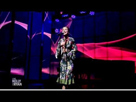 "Melissa Benoist Performs ""I Feel The Earth Move""(LIVE Kelly & Ryan)"