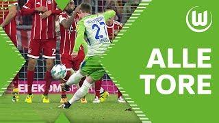 ALLE TORE der Hinrunde von Didavi, Origi, Malli & Co.   VfL Wolfsburg
