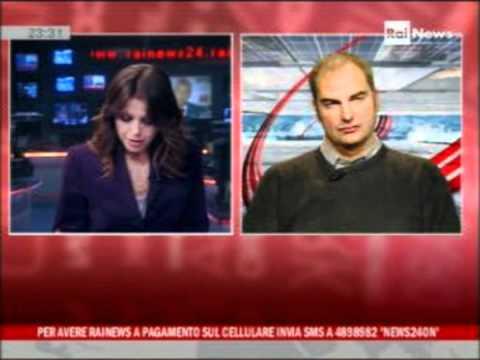 La donna oggetto in TV commento di Giampaolo Rossi a Rainews ospite di Emanuela Bonchino