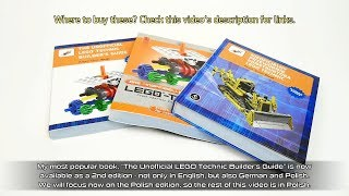 My LEGO Technic book: 2nd edition now available in German and Polish