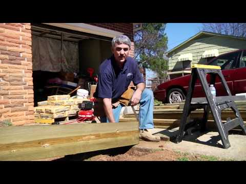 How To Build a Residential Ramp
