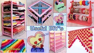 10 Home Use... DIY Room Decor & Organizer Idea || DIY Projects !!!