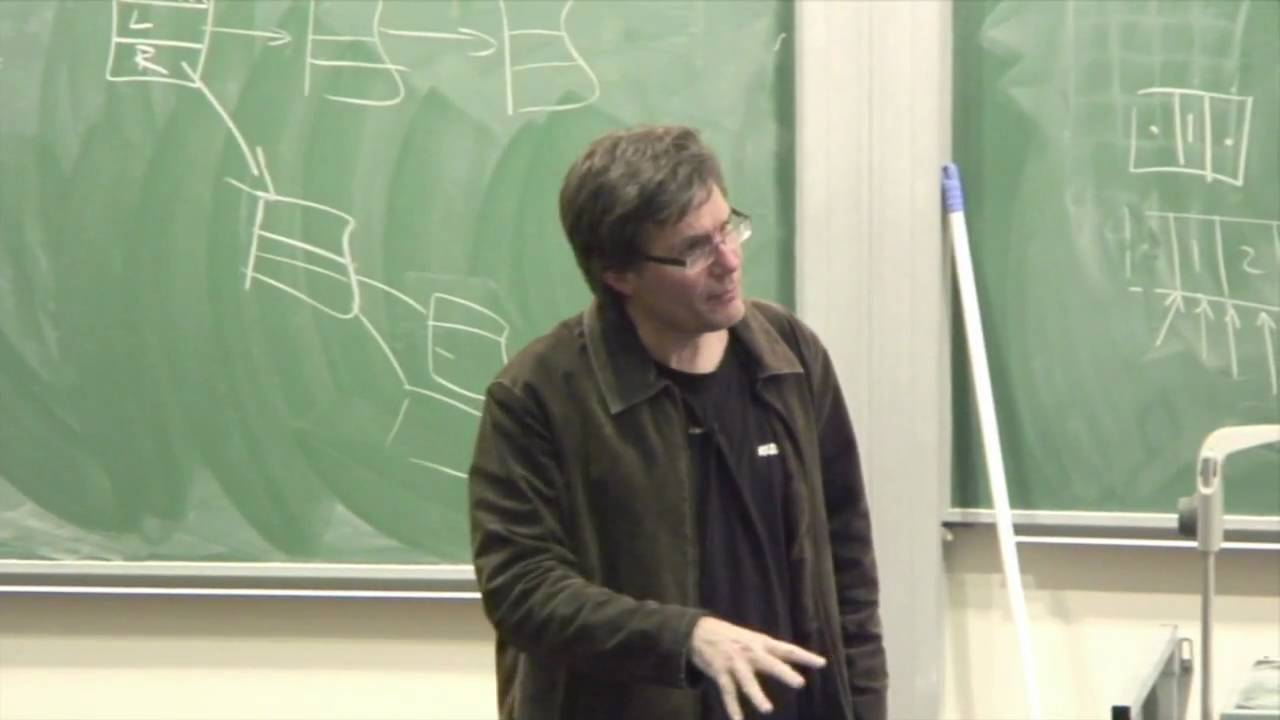 Lecture 19: Data Structures and Algorithms - Richard Buckland
