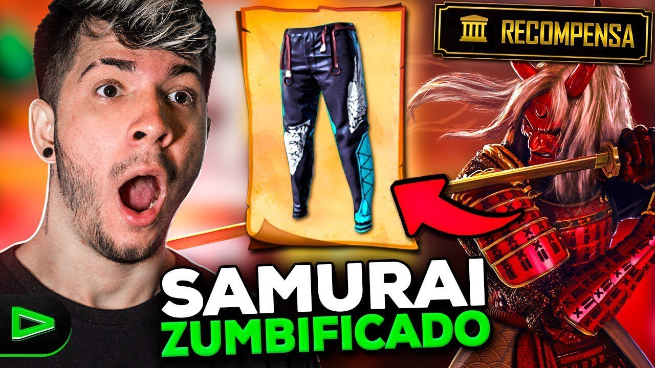 💚 EVENTO SAMURAI VOLTOU!?  NOVO EVENTO!!!!!! LOUD EMULADOR!! 🔴 FREE FIRE - AO VIVO! LOUD LZINN!