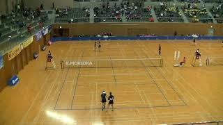 平成29年度ソフトテニス日本リーグ 女子第4節 ヨネックス 対 アドマテッ...