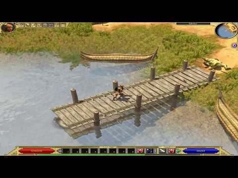 Titan Quest Anniversary Edition (playthrough) - 043: Dashur, upper nile and Thebes outskirts