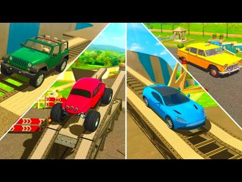 Obstacle Course Car Parking All Levels & All Vehicles ( Full Game )
