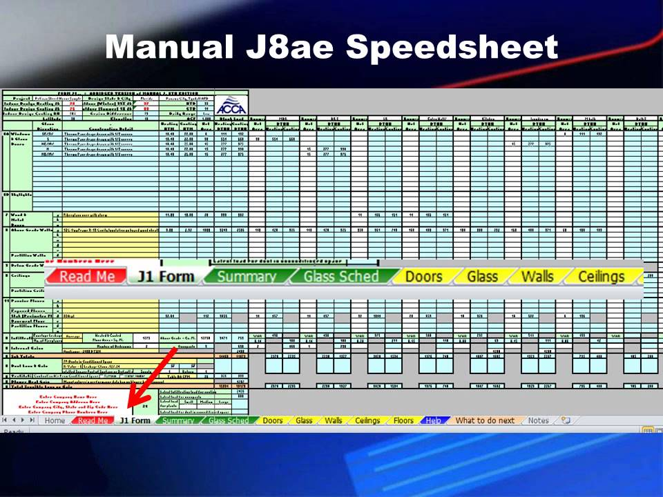 Instructions For ACCA Manual Jae Speedsheet