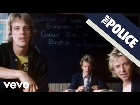 The Police - Don't Stand So Close To Me Video
