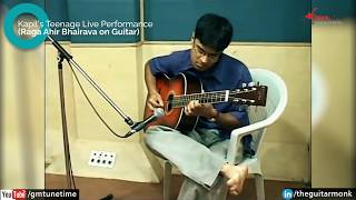 Ahir Bhairav - Indian Classical Ragas on Guitar by Kapil, Learn Tabs, Music Notes, Lesson,Tutorial