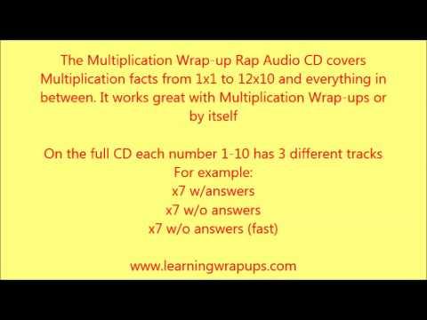 Learning Wrap-Ups: Wrap-Up Rap Multiplication Sample