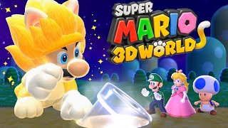 What Happens When You Play as Giga Cat Mario in Super Mario 3D World?